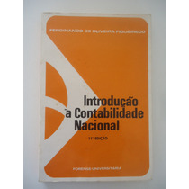 Introdução À Contabilidade Nacional, Ferdinando De Oliveira