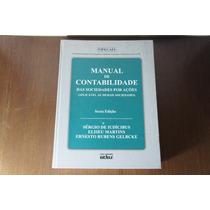 Livro Manual De Contabilidade Das Sociedades Por Ações