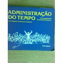 Livro - Administração Do Tempo - Luiz Augusto Costacurta