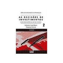 Livro As Decisões De Investimentos 2 Adriano Leal Bruni