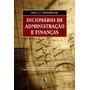 Dicionário De Administração E Finanças