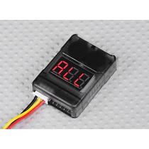 Alarme E Monitor De Voltagem De Lipo 2s 3s 4s 5s 6s