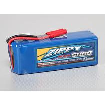 Bateria Lipo Zippy Flightmax 5000mah 6s 22.2v 25c P/ T-rex