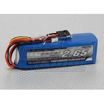Bateria Rádio Transmissor 2650mah 3s 1c Futaba Turnigy Jr