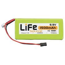 Bateria Life 9.9v 1500mah 1c Hobbico Tx Lifesource U Hcam652