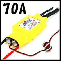 Esc Speed Control 70a Brushless Motor Lipo Futaba Jr Eflite