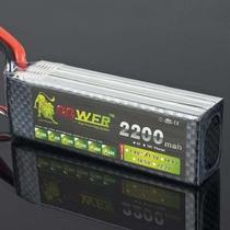 Bateria Lipo Power 2200mah 25c 3s (11.1v) Produto Novo