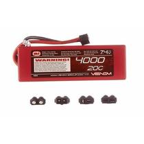 Bateria Venom 2s 4000mah 20c 7.4v Lipo Hardcase Aero Auto