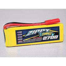 Lipo Bateria 2700mah 3s 25c Zippy Compact Drone Aero (3000)