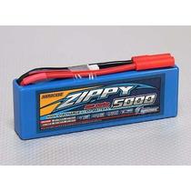 Lipo Bateria 5000mah 2s 20c 7.4v Zippy Hardcase Hpi Traxxas