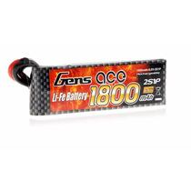 Bateria Life 2s 6.6v 1800mah 20c Gens Ace Futaba Xt60