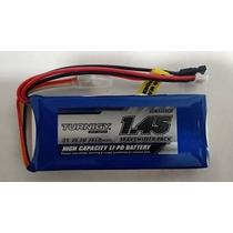 Bateria 1450mah Lipo 3s 1c Turnigy Bateria Para Rádio