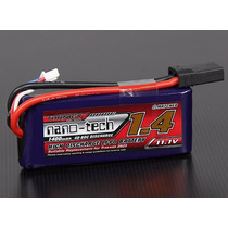 Bateria Turnigy Nanotech 1400mah 3s 40/80c