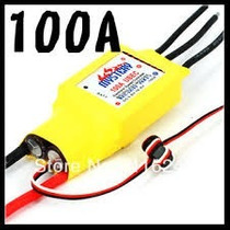 Esc Speed Control 100a Brushless Motor Turnigy Ace Gens Jr