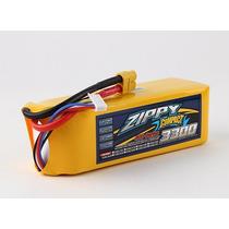 Lipo Bateria 3300mah 6s 40c Zippy Compact Trex Walkera 500