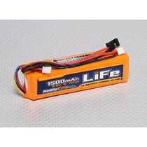 Bateria Life 3s 1500mah Hobbyking 9.9v Para Radio Transmisor