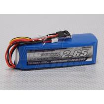 Bateria Radio Transmissor 2650 Mah 3s 1c Futaba Turnigy Jr
