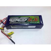 Bateria De Lipo Para Radio - Turnigy Nanotech 2500mah 11,1v