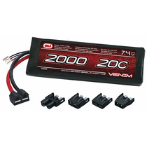 Bateria Lipo 2s 7.4v 2000mah 20c Venom - 1/16 Summit Revo