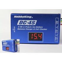 Carregador E Balanceador De Baterias Lipo Dc 4s