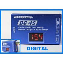 Carregador E Balanceador Digital P/ Bater. Lipo E Li-ion