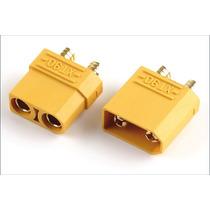 Conector Xt90 Casal ( 2 Peças) Suporta 90 Amperes