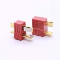 Plug Conector Deans T Emax Macho + Fêmea (par) - Original