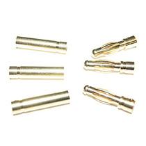 Conector Plug Gold Bullet 4 Mm Esc Motor 80 Amp - Kit 3 Par