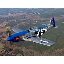 Canopy Do P-51 Mustang Para Motores 40 A 70