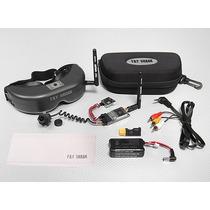 Fatshark Predatorv2 Rtf Fpv Headset System W/camera E 5.8ghz
