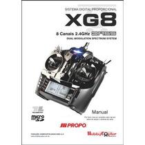 Manual Em Português - Rádio Controle Jr Propo Xg8