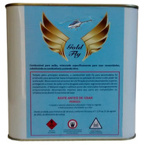 Combustivel Glow Gold Fly Para Helimodelo Gl 3 Litros