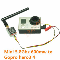 Mini Tx De Video 600mw Ts-5828, Fpv Boscam + Cabo Para Gopro