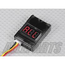 Medidor Alarme Digital Bateria Lipo Life Li-ion Frete Único