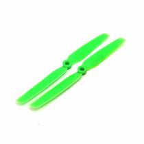 Hélice Emax 6030 Verde Plástica Para Multirotores 6x3