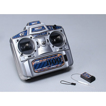 Radio Hobby King Hk6s 2.4ghz 6ch Tx & Rx(mode 2)