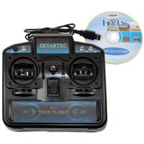 Radio Controle Simulador Usb 8 Canais É O Melhor Do Mercado