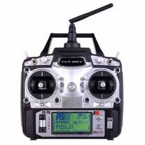 Radio Controle Flysky Fs T6 2.4ghz Digital Controle 6 Canais