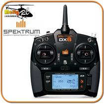 Radio Controle Spektrun Dx6 6 Canais + Ar610 Telemetria