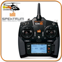 Radio Controle Spektrum Dx6 6 Canais + Ar610 Telemetria