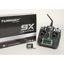 Radio Turnigy 9 Canais - 2,4gz V2 Com Receptor 8c