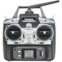 Rádio Futaba 6ex 2.4ghz 6-canais Mode Aero Servos S3004 Futk