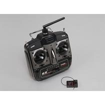 Radio Turnigy 6x M2 - 2.4ghz 6 Canais Fhss E Receptor Xr7000