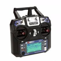 Rádio Transmissor Flysky Fs-i6 2.4g 6ch Afhds C/ Fs-ia6
