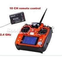 Radiolink At10 Rc Transmissor 2.4g Receptor Telemetria Radio