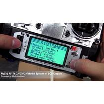Radio Flysky Fs-t6 2.4ghz Digital Proporcional 6 Canais