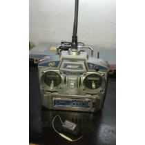 Rádio Hobbyking Hk60f 2.4ghz 6ch - Com Receptor(usado)