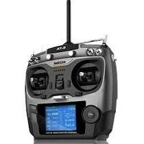 Radio Controle At9 2.4 Receptor Telemetria Futaba Turnigy