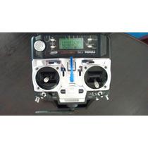 Aeromodelo Radio Futaba 7c 2.4 Com Maleta Receptor E Carreg
