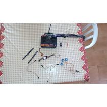 Kit Eletrônica Mig-29 + Rádio Hobby King 2.4ghz 4ch Mandamsg